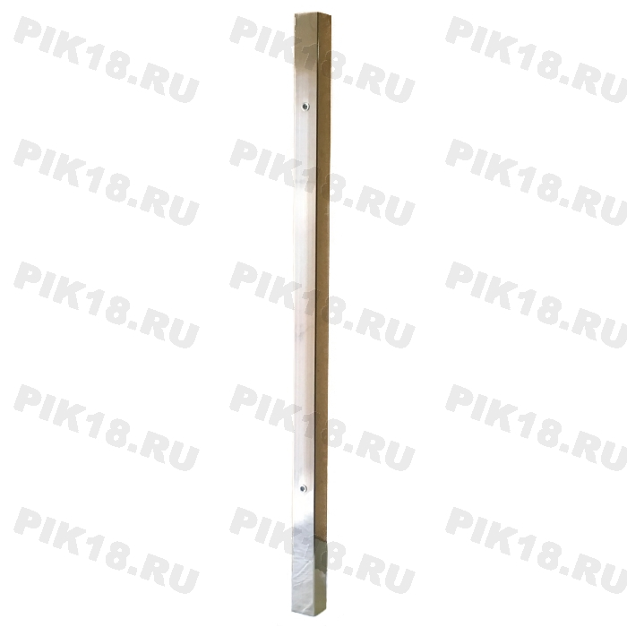 Стойка 40x40мм под стекло промежуточная (AISI 304)