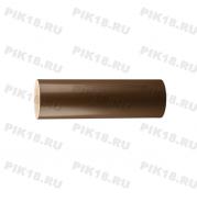 Круглый поручень ПВХ, темный орех (венге)