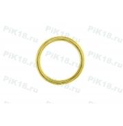 Фурнитура Кольцо Ø16мм Шлифованное Золото