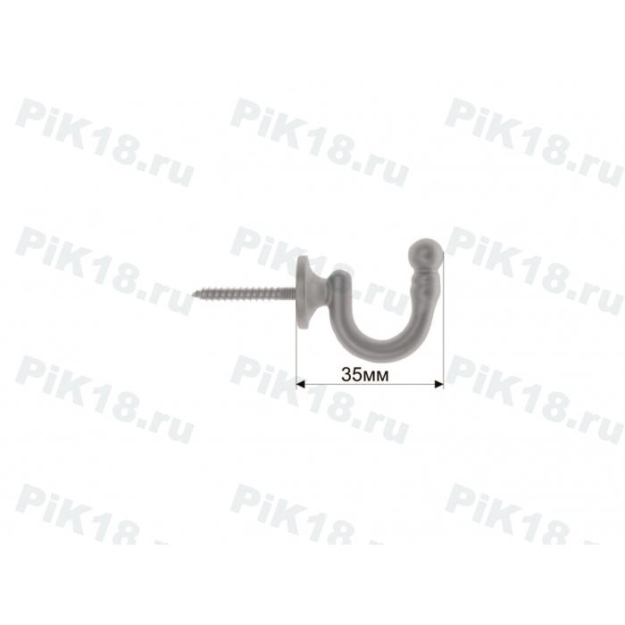 Крючок стеновой Хром Матовый