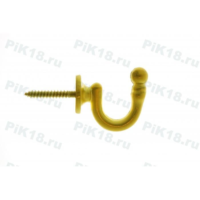 Крючок стеновой Шлифованное Золото