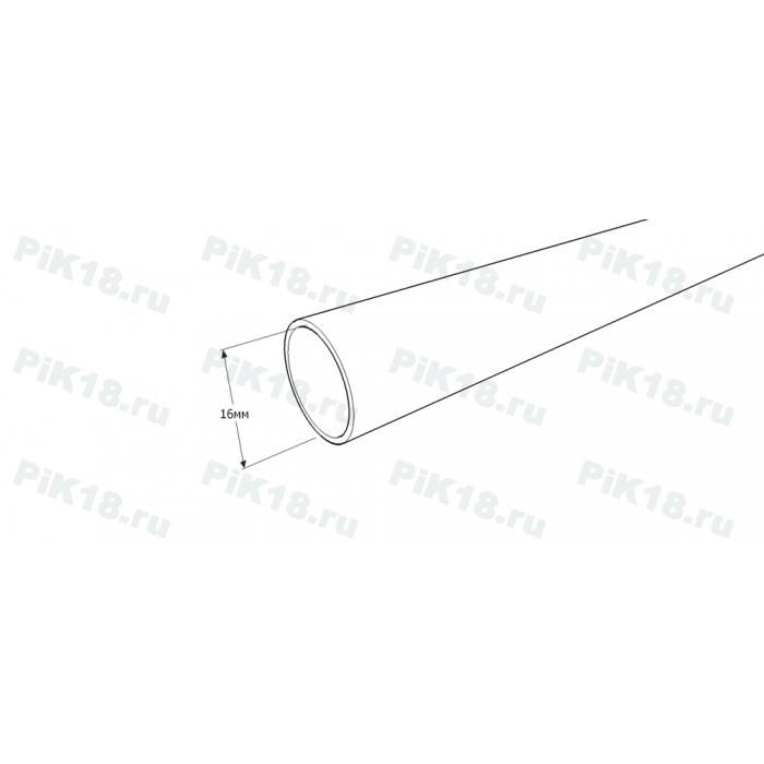 Труба гладкая 2,4м Ø16мм Хром