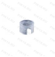 Пластиковый переходник с трубы d19мм на трубу d16мм