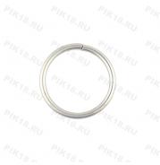 Кольцо Ø25мм Хром матовый